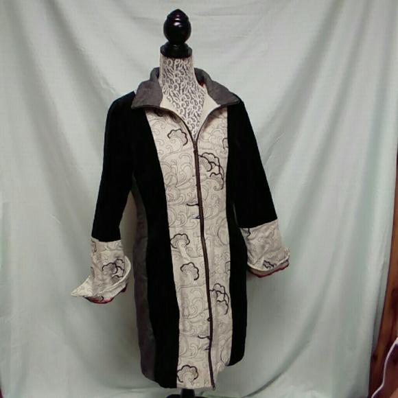 St Martins Scandinavian Design Jackets Coats Stmartins Scandinavian Design Velvet Coat Poshmark